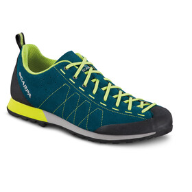 Scarpa Highball Schoenen Heren, lake blue/lime